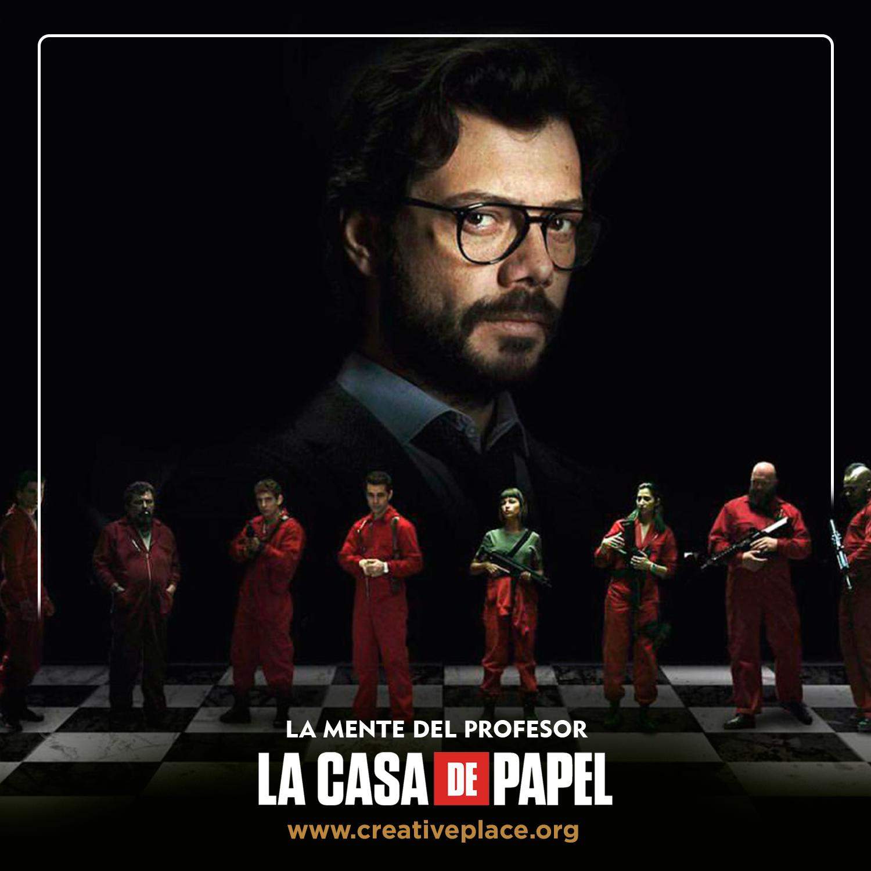 La Mente del PROFESOR - La casa de papel temporada 4