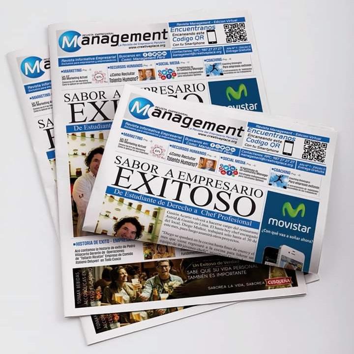 Revista Management Edición Impresa y Digital